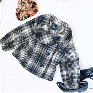 Mossimo Plaid Wool Jacket